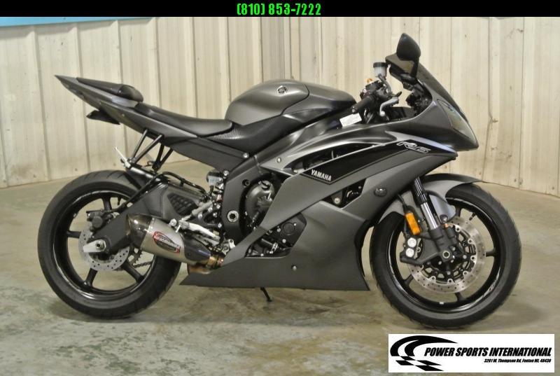 2016 YAMAHA YZF-R6  (MATTE GRAY) R6 Sport Bike Motorcycle NICE!!!! #7334