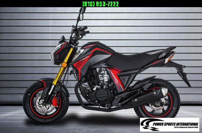 2020 LIFAN KP MINI 150 E-Start Motorcycle 70+mph GROM KILLER BLACK #0098