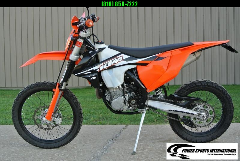 2017 KTM 500 EXC-F 4-Stroke Street Legal Enduro Motorcycle #8854