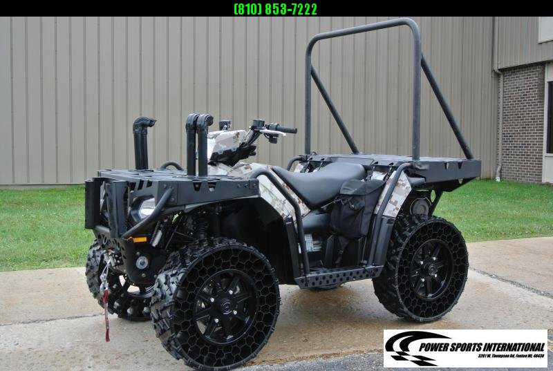2014 POLARIS SPORTSMAN WV850 H.O. TERRAINARMOR DIGITAL CAMO MILITARY EDITION