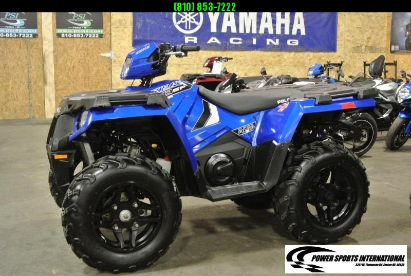 2018 POLARIS SPORTSMAN 570 SP EPS EFI 4X4 ATV METALLIC BLUE #5296