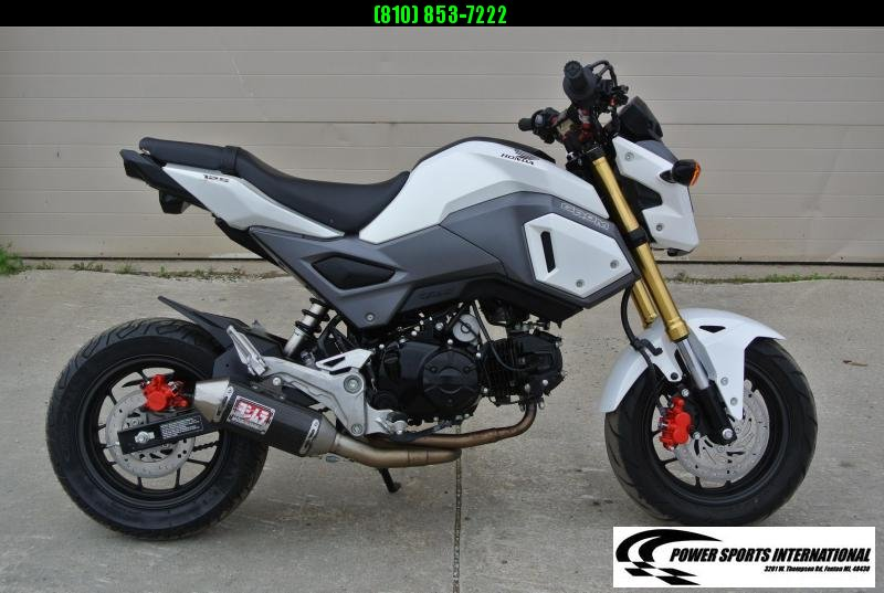 2017 Honda GROM 125 E-Start Motorcycle MSX125 Grom #5488