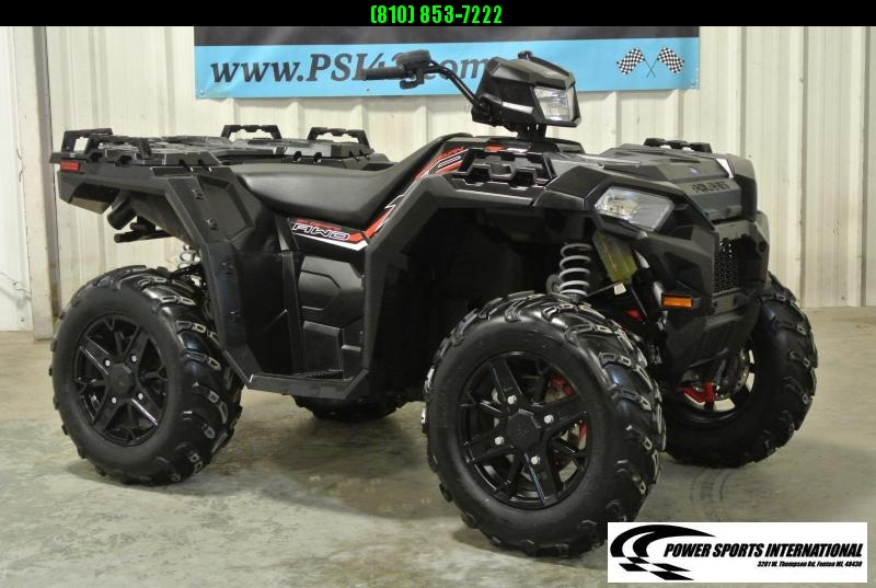2017 POLARIS SPORTSMAN XP 1000 BLACK METALLIC EDITION #8779