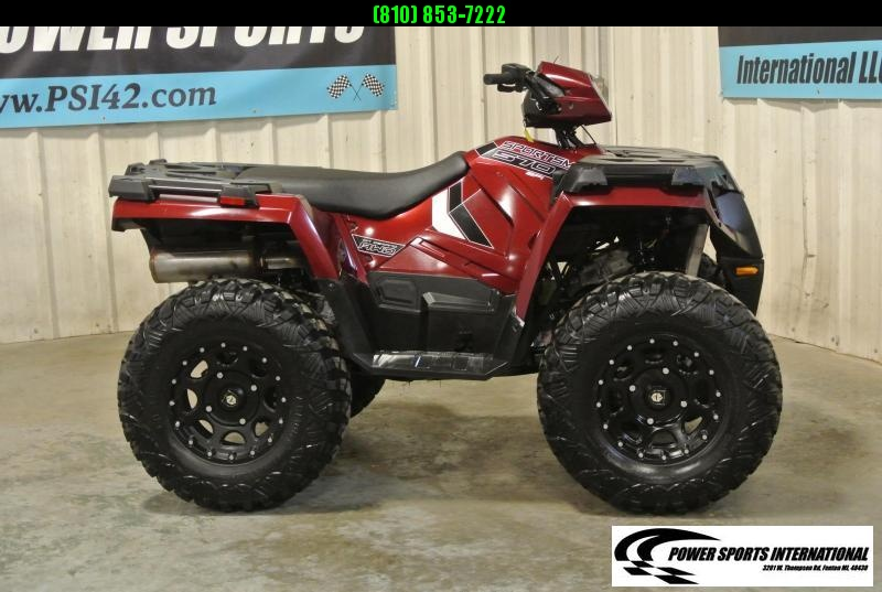 2019 POLARIS SPORTSMAN 570 SP EFI 4X4 ATV MAROON w/ EXTRAS #6659