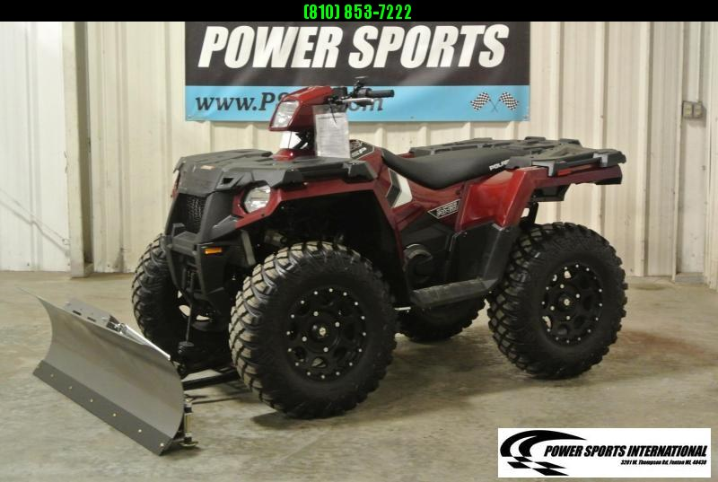 2019 POLARIS SPORTSMAN 570 SP EFI EPS 4X4 ATV MAROON w/ EXTRAS #6659