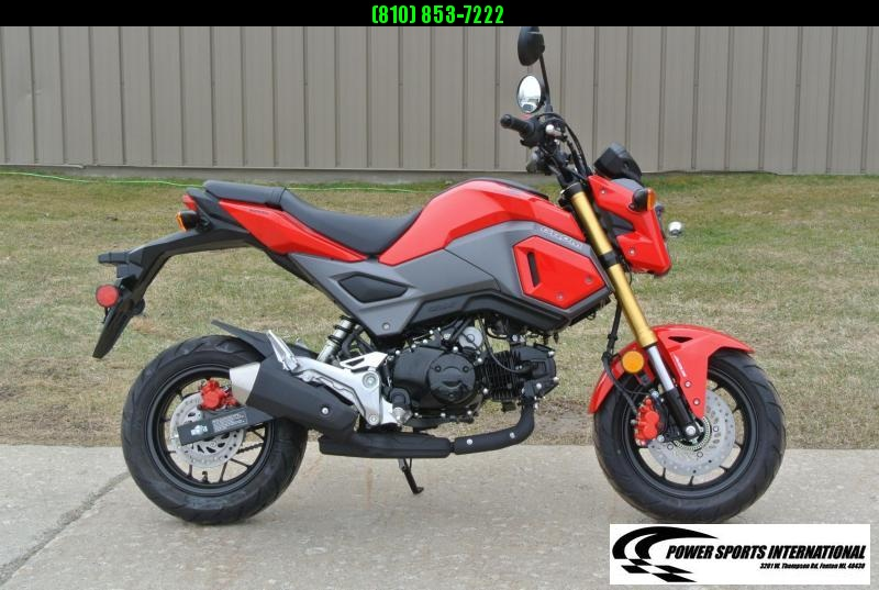 2018 Honda GROM 125 E-Start Motorcycle Tons of FUN!! Grom #0346