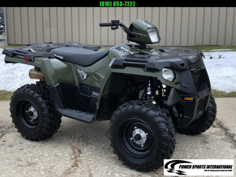 2019 POLARIS SPORTSMAN 450 HO 4X4 ATV HUNTER GREEN #5432