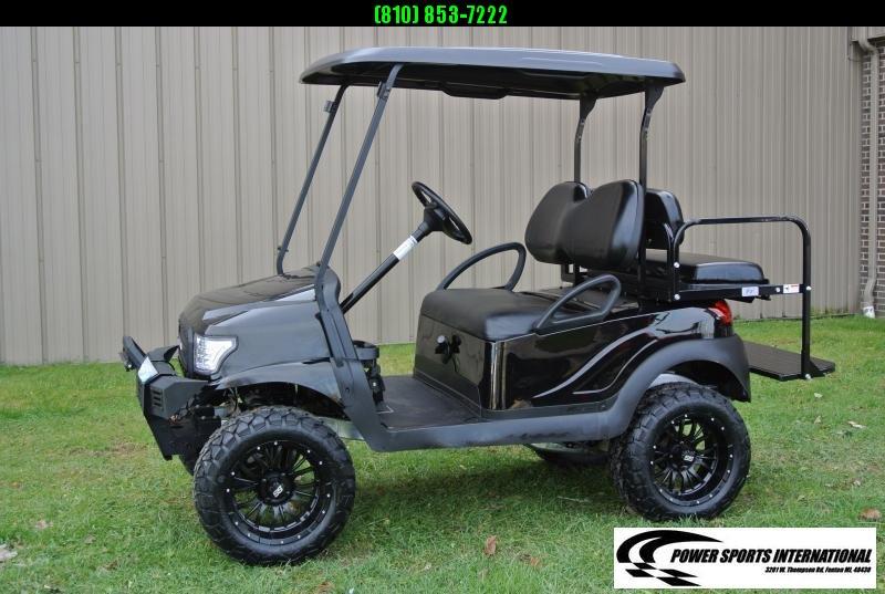 2015 CUSTOM Club Car Precedent EFI Fuel Injected GAS Golf Cart #9317