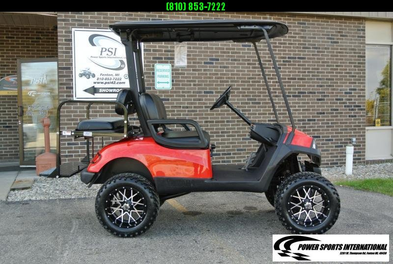 2013 Custom Yamaha Drive GAS POWERED Golf Cart #7264