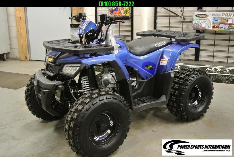 2020 MUDHAWK 10 YOUTH ATV 4-Stroke Automatic Four Wheeler BLUE #0427