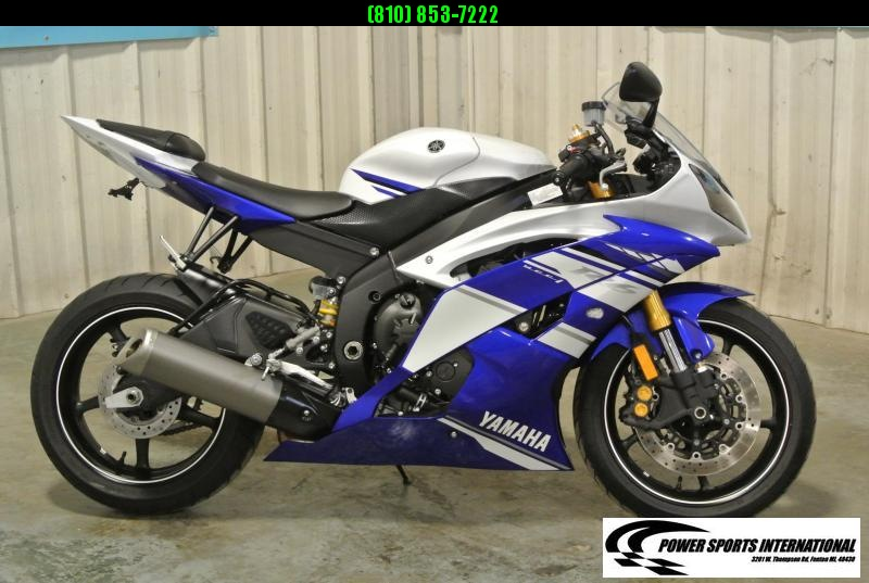 2014 YAMAHA YZF-R6 TEAM YAMAHA R6 Sport Bike Motorcycle Metallic Black and Red Low Miles #1277