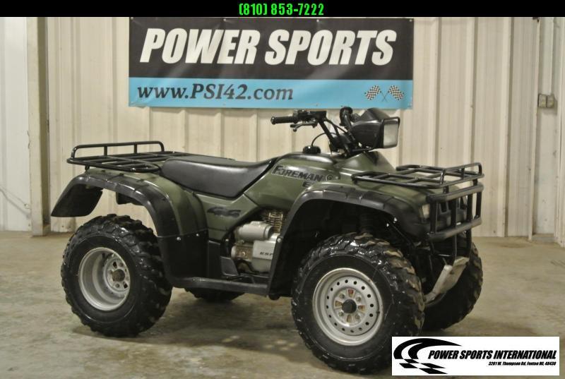 1998 HONDA TRX450ESW FOREMAN ES (4X4) ATV Four wheeler #9159