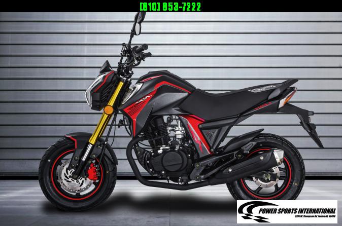 2020 LIFAN KP MINI 150 E-Start Motorcycle 70+mph GROM KILLER BLUE