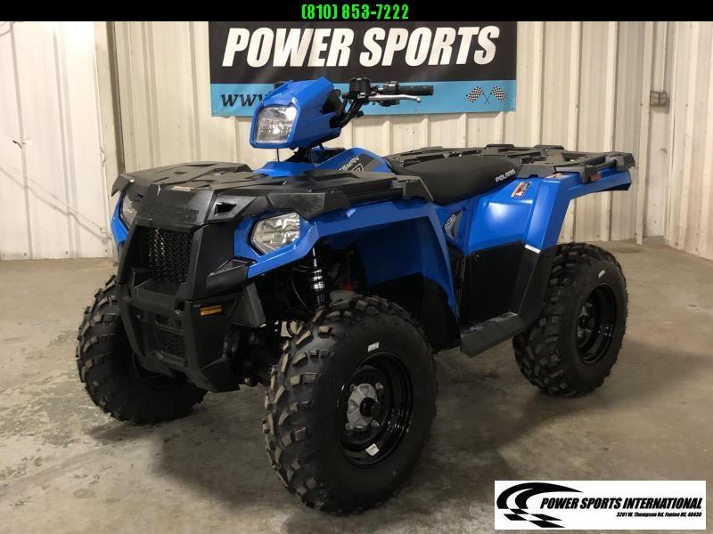 2019 POLARIS SPORTSMAN 570 EFI 4X4 ATV METALLIC BLUE #5204