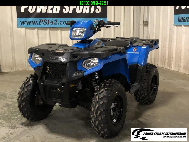 2019 POLARIS SPORTSMAN 570 EFI 4X4 ATV METALLIC BLUE #5204