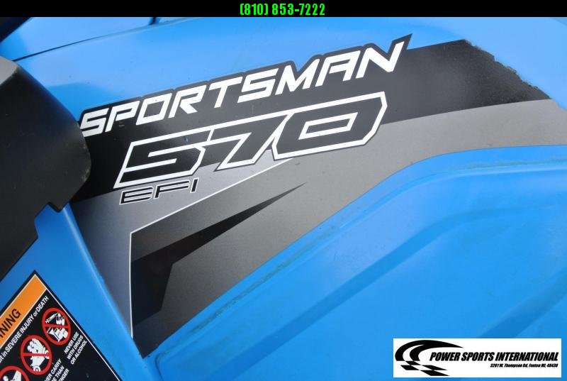 2019 POLARIS SPORTSMAN TOURING 570 (ELECTRIC POWER STEERING) BLUE #0942