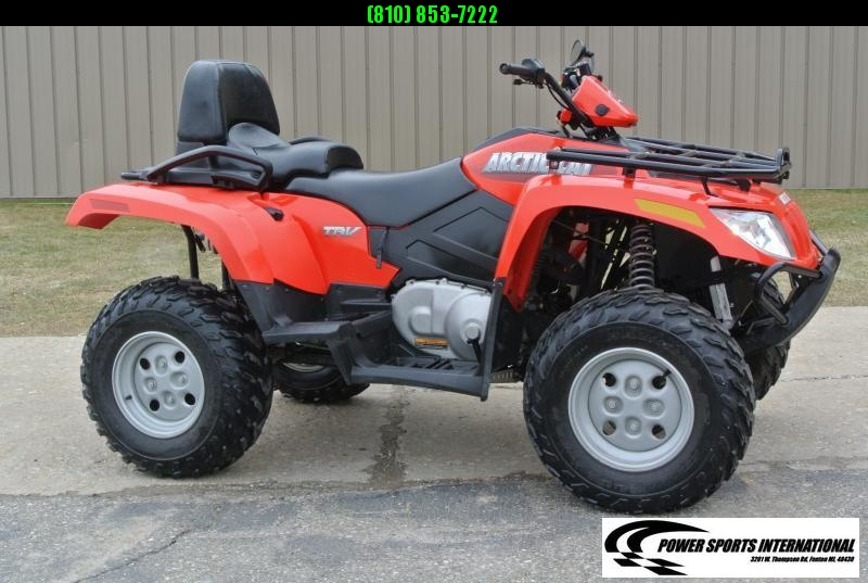 2007 ARCTIC CAT ALTERRA 400 TRV 4X4 2-Up UTILITY ATV #4260