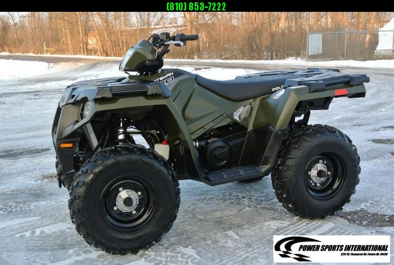 2017 POLARIS SPORTSMAN 570 EFI 4X4 ATV HUNTER GREEN #1405
