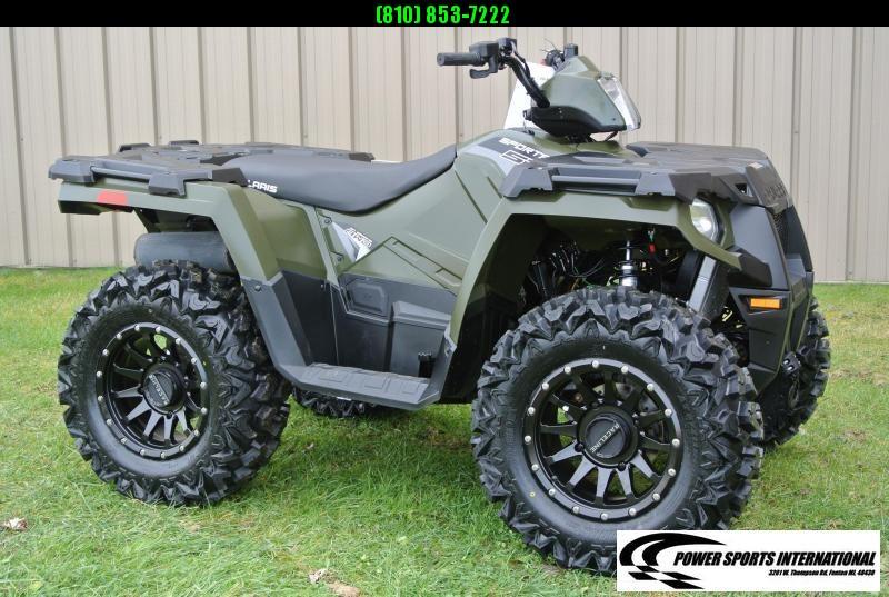 2017 POLARIS SPORTSMAN 570 EFI 4X4 ATV HUNTER GREEN #1405