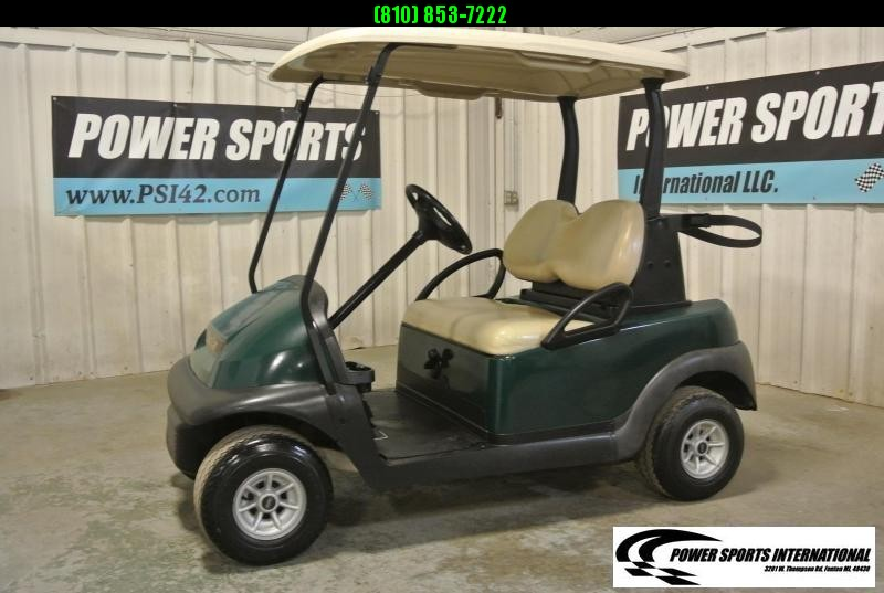 2015 Club Car Precedent EFI Gas Golf Cart in HUNTER GREEN #0708