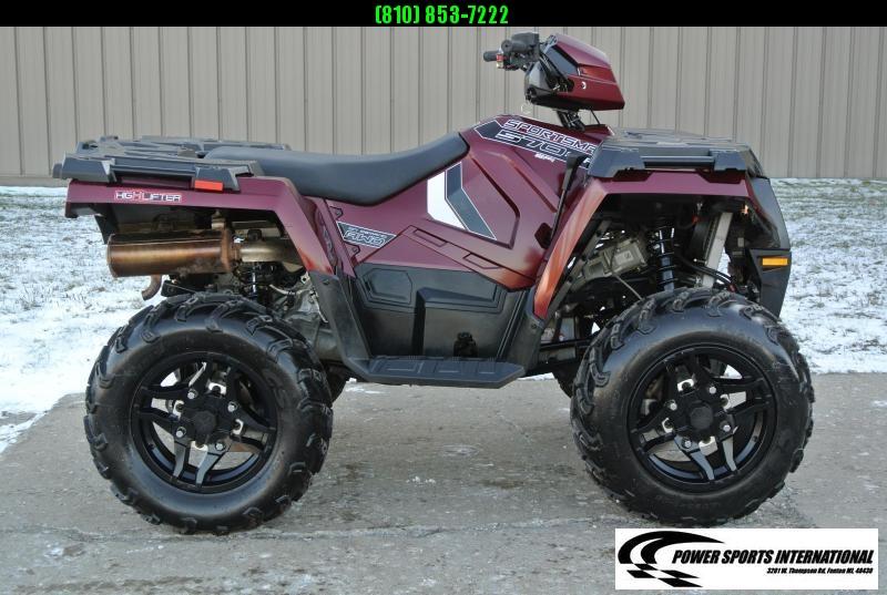 2019 POLARIS SPORTSMAN 570 SP EFI 4X4 ATV MAROON #0302