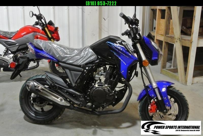 2020 LIFAN KP MINI 150 E-Start Motorcycle 70+mph GROM KILLER BLUE #0098
