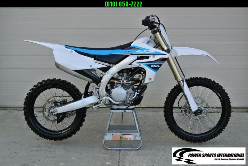 2019 Yamaha YZ250F Motorcycle MX Motocross Team Edition #5242