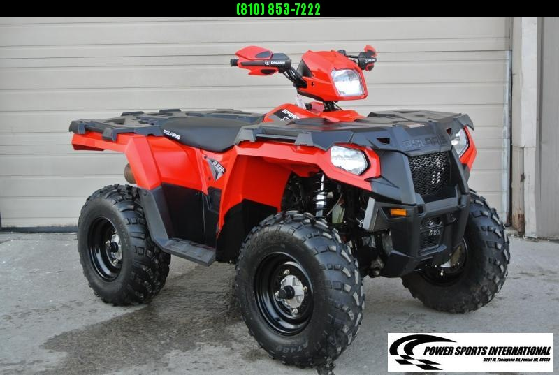 2018 POLARIS SPORTSMAN 570 EFI 4X4 ATV RED #2473