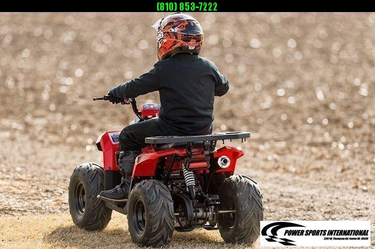 2020 MUDHAWK 6 YOUTH ATV 4-Stroke Automatic Four Wheeler RED #0080