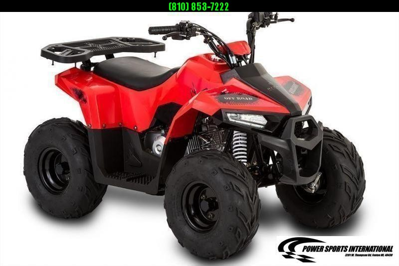 2020 MUDHAWK 6 YOUTH ATV 4-Stroke Automatic Four Wheeler RED #0080
