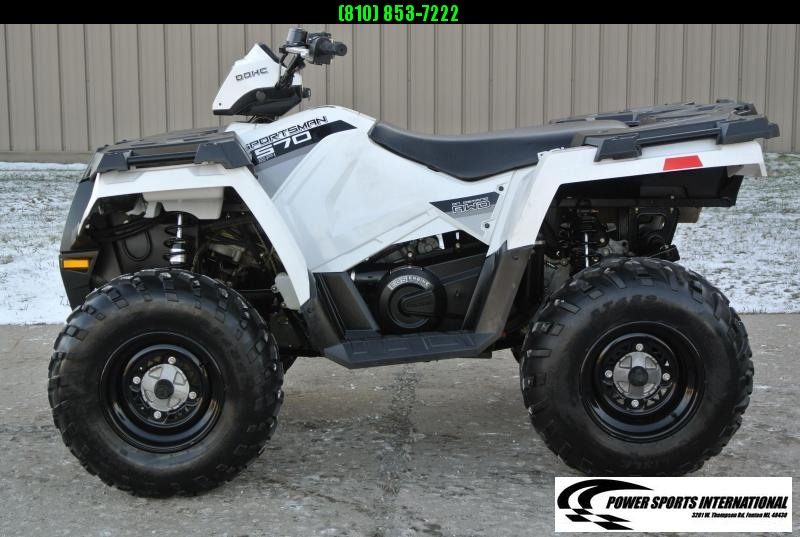 2015 POLARIS SPORTSMAN 570 EPS EFI 4X4 ATV WHITE #1050
