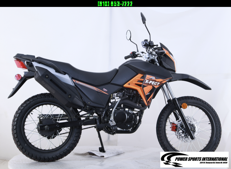 2020 X-PECT LIFAN 200CC DUAL SPORT DIRT BIKE - LF200GY-4 - STREET LEGAL Motorcycle