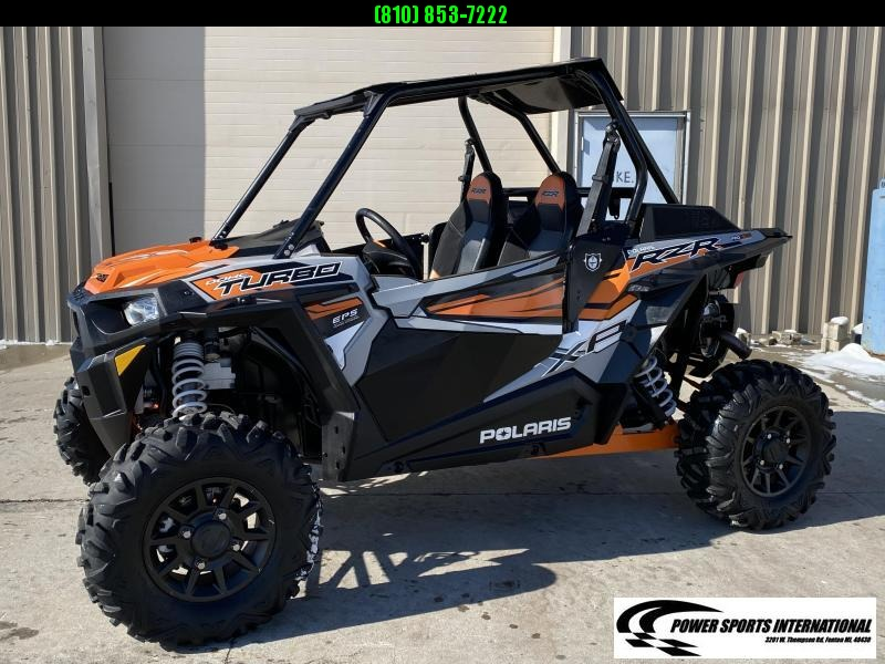 2018 POLARIS RZR XP TURBO 1000 EPS Side By Side SXS #5617