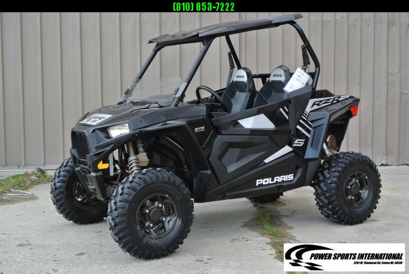 2019 POLARIS RZR S 900 EPS Black Sport Side-by-Side #2708
