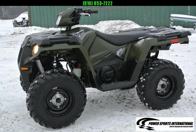 2018 POLARIS SPORTSMAN 570 EFI 4X4 ATV HUNTER GREEN #1081