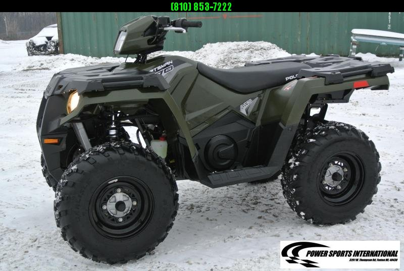 2018 POLARIS SPORTSMAN 570 EFI 4X4 ATV HUNTER GREEN #1081