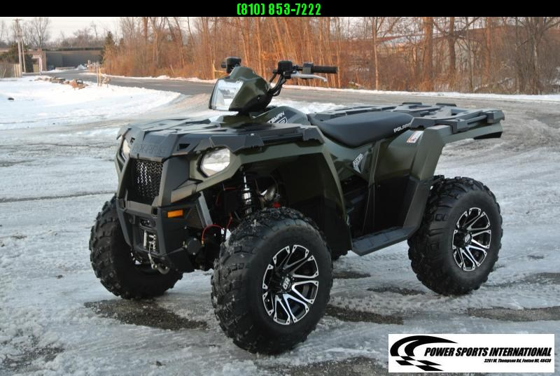 2017 POLARIS SPORTSMAN 570 EFI 4X4 ATV HUNTER GREEN #6477