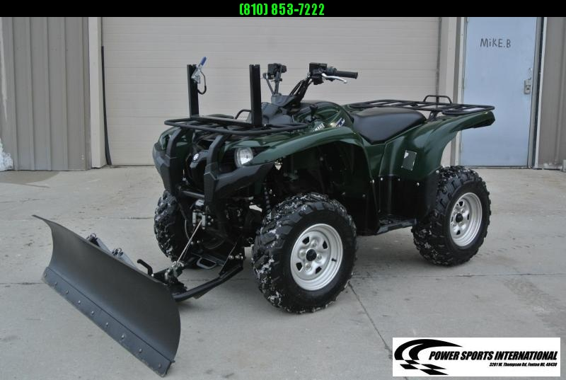 2011 YAMAHA GRIZZLY 700 EPS Power Steering (GREEN) 4X4 ATV #8820