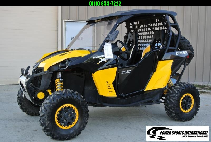2015 CAN-AM MAVERICK 1000R X DS YELLOW Side By Side #1432