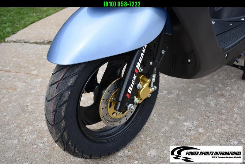 2018 Aeolus Linhai 50V YAMAHA JOG Scooter BLUE #0055