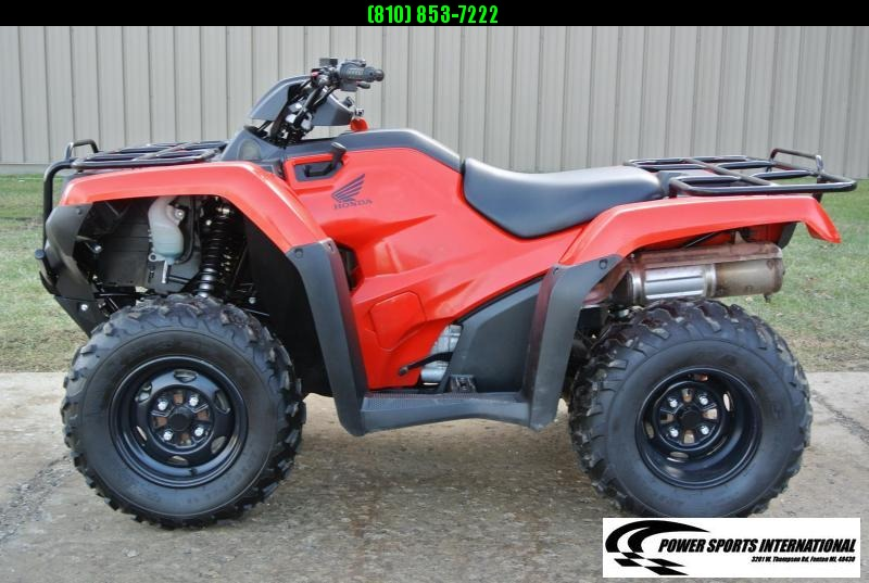 2017 HONDA TRX420FM1H FOURTRAX RANCHER (4X4) RED #1624