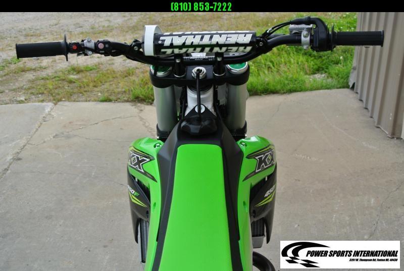 2018 KAWASAKI KX450HHF Motorcycle MX Dirt Bike MONSTER ENERGY #0287