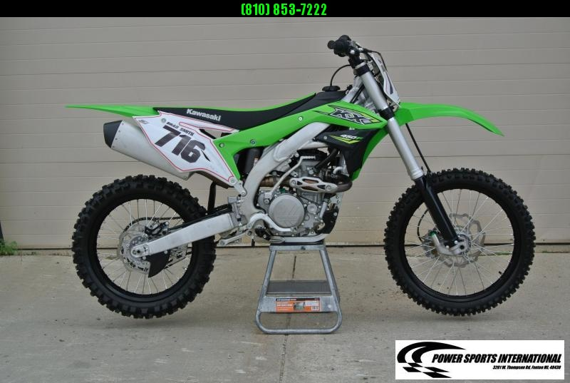 2018 KAWASAKI KX450HHF Motorcycle MX Dirt Bike MONSTER ENERGY #0287