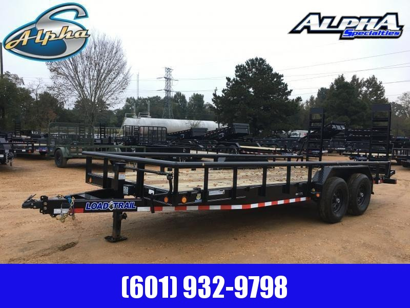 "2020 Load Trail 83"" x 20' Tandem Axle Carhauler / Racing Trailer"