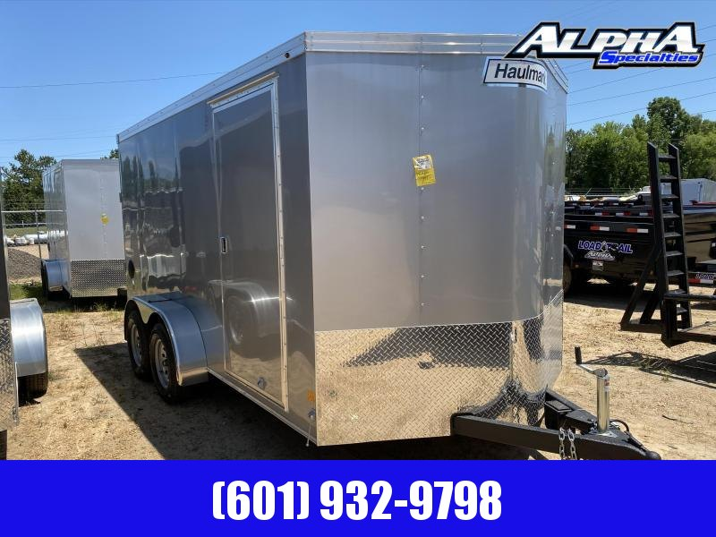2020 Haulmark 7' X 14' Transport V-Nose Enclosed Cargo Trailer 7K GVWR