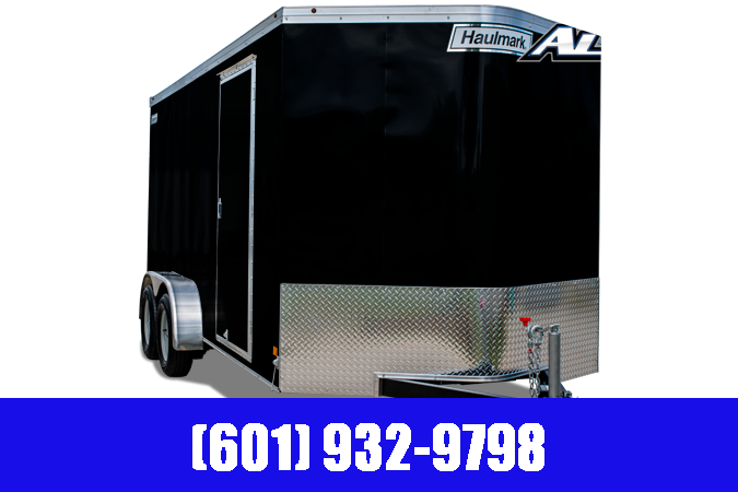 2020 Haulmark 7' x 14' Tandem Transport V-Nose Cargo / Enclosed Trailer 7K GVWR