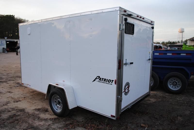 2019 Homesteader 6' x 12' Cargo/Enclosed Trailer 3k GVWR
