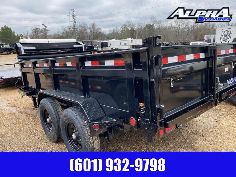 2020 Load Trail Tandem Axle GD14 83 x 14 Gooseneck Dump Trailer 14K GVWR