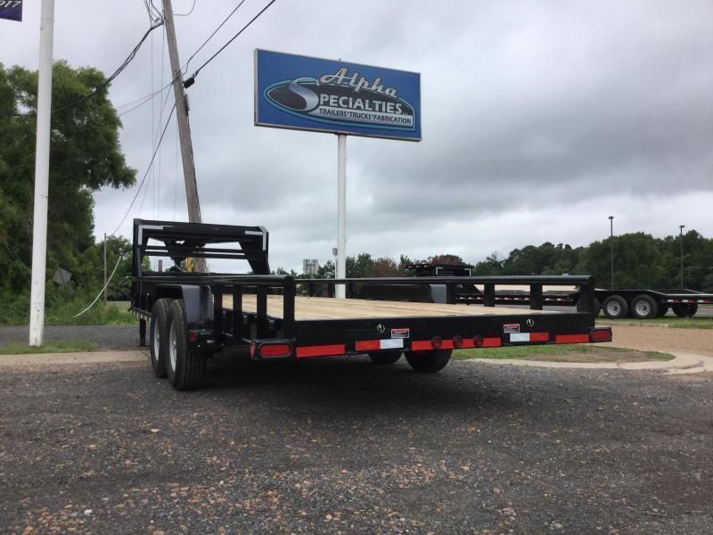 """2019 Load Trail 83"""" x 20' Gooseneck w/ Sides 14k GVWR"""