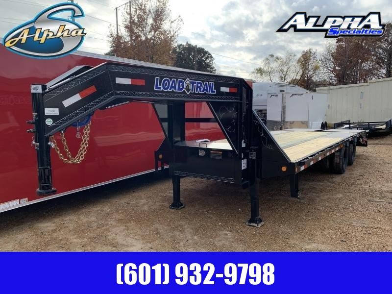 2020 Load Trail 102' x 25' Tandem Low-Pro Gooseneck Equipment Trailer